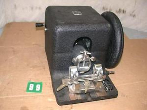 #2 AO Spencer model 820 rotary microtome includes knife holder