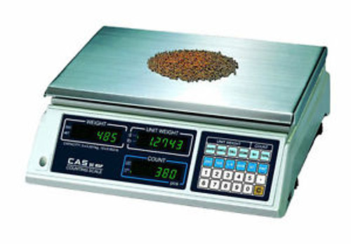 10 LB x 0.002 LB Cas SC-05P Series Precision Counting Scale Stain Steel Platter
