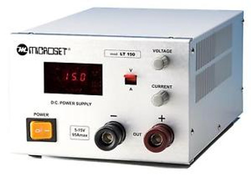 Laboratory power supply 4-30V 50A Heavy Duty - Microset LT250