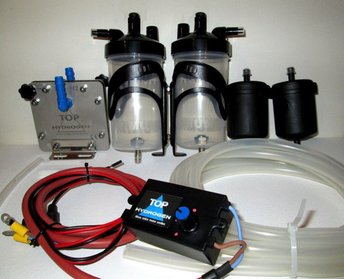 H2 PURE HYDROGEN GENERATOR DS - 45, FUEL SAVER CAR KIT, CC PWM