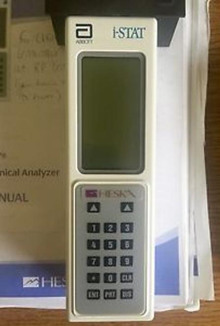 Abbott I-Stat Portable Blood Analyzer System