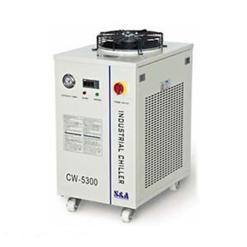 110V Cw-5300Dh Industrial Water Chiller For A Single 150W Co2 Laser Tube Cooling