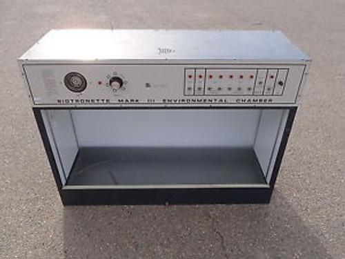 846 1191-0407 Biotronette Mark III Environmental Chamber