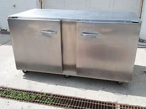 TRAULSEN ULT 60-LR Compact 2 Door Undercounter Freezer Left & Right Doors Wheels