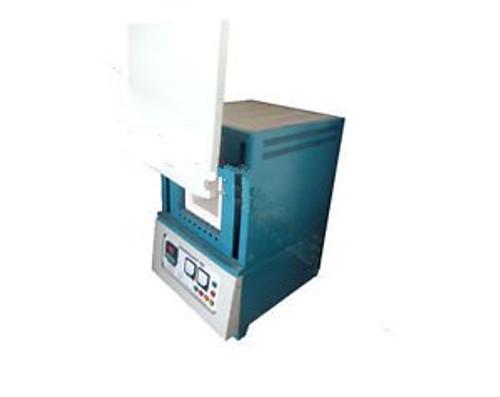 "1400? 9.5""×6""×6"" Box Muffle Chamber Heating Oven Benchtop Digital Lab Furnace"