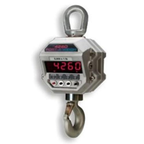5000 LB x 1 LB MSI-4260B Port-A-Weigh NTEP Hanging Digital Crane Hoist Scale
