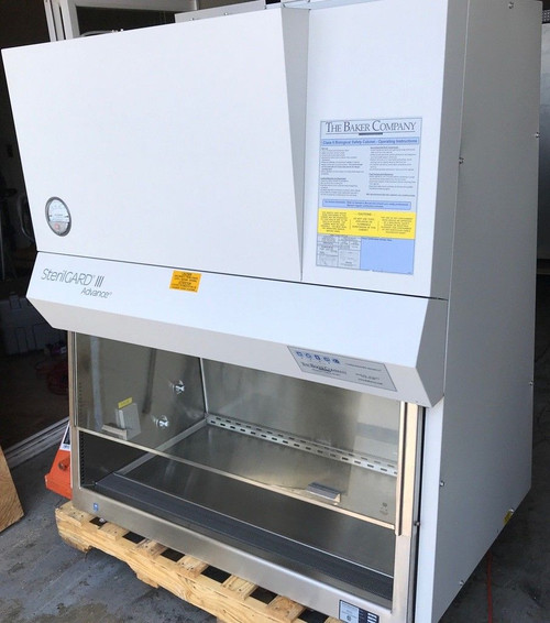 4 ft Baker Biosafety Cabinet SG403 A2 with Stand