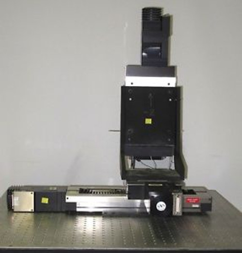 Newport MTM Series Long Travel X Y Z Linear Stage System, 250 x 100 x 100 mm