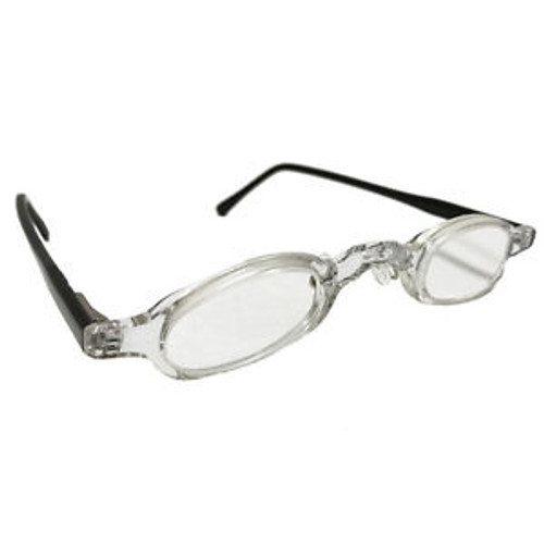 +10 Diopter Prismatic AR Coated Reading Glasses Specs Readers Cheaters +10.0