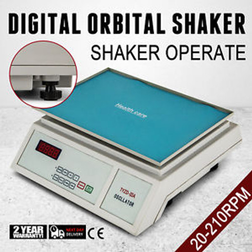 DIGITAL OSCILLATOR ORBITAL ROTATOR SHAKER PLATFORM Speed Control MIXER BLENDER