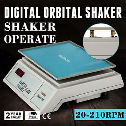 DIGITAL OSCILLATOR ORBITAL ROTATOR SHAKER 22MM ORBIT DIAMETER VARIABLE SPEED