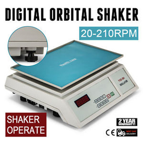 DIGITAL OSCILLATOR ORBITAL ROTATOR SHAKER EQUIPMENT CLINICAL TEST MIXER BLENDER