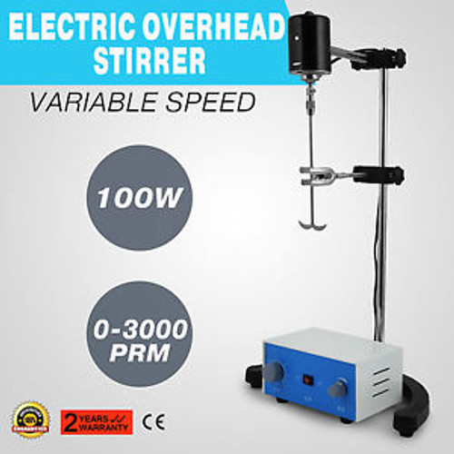 100w Electric overhead stirrer mixe variable speed corrosion resistance analysis