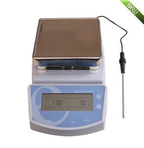 100% Good Digital Hot Plate Magnetic Stirrer Electric Heating Mixer Max Temp300