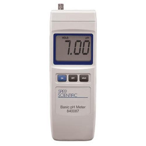 Handheld Digital pH Meter by Sper Scientific - 840087