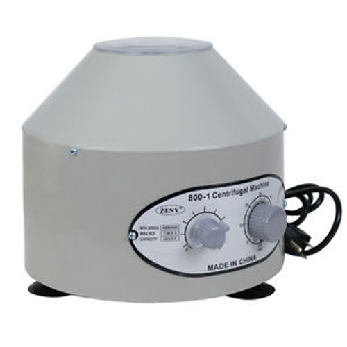 110/60Hz 800-1 Desktop Electric Medical Lab Laboratory Centrifuge 4000 r/min