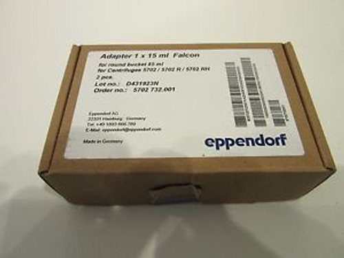 Eppendorf 1 X 15 Ml Falcon Adapters Cat. # 022639188