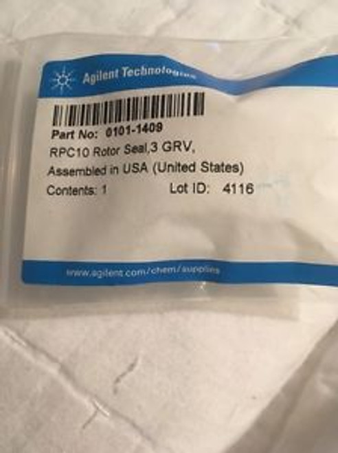 Agilent Technologies 0101-1409  (Rpc10 Rotor Seal 3 Grv)- New / Genuine