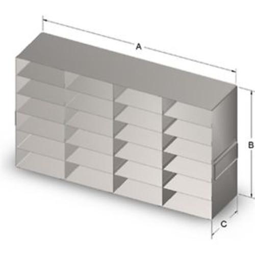 Biogenic Systems Freezer rack URO462 NEW (Box of 4 #211791-FLO