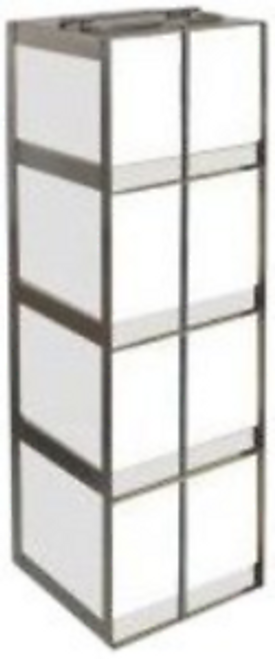 Alkali Scientific CFLB-6 Stainless Steel Vertical Chest Freezer Rack for 15ml x