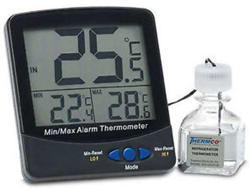Certified Digital Thermometer Ambient Room Certified @ 22C