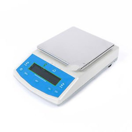 10 Kg X 0.1 G Lab Digital Balance Scale Electronic Balance Precision Weight Lcd