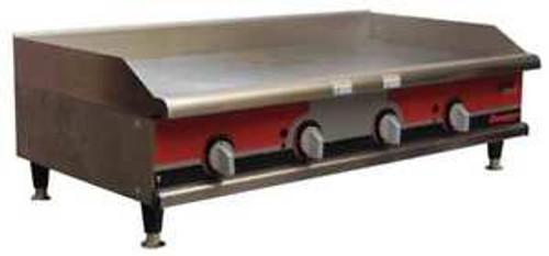 APW WYOTT GGM-48I 26-3/4 x 48 x 15-1/2 Manual Gas Griddle G9809082