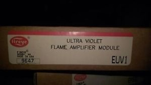 #160 FIREYE EUV1 ULTRA VIOLET FLAME AMPLIFIER MODULE