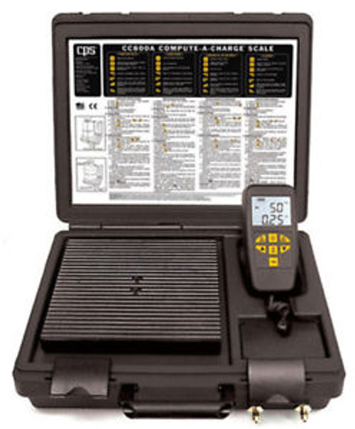 CPS CC800A COMPUTE-A-CHARGE 220 lb Refrigerant Scale