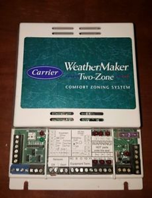 Carrier Weathermaker Two Zone Comfort Zoning System Spw
