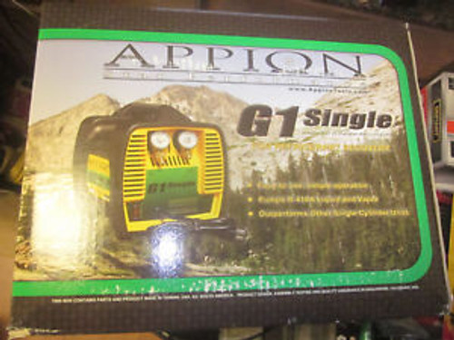 Appion G1 Single Refrigerant Recovery Unit. New In Package