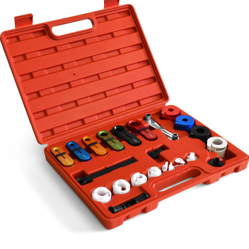 22x Fuel Oil Transmission Line Disconnect Tool Set Kit For A/C Air Conditioning