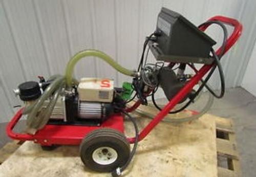 Airserco Hi-Vac Pump + Gauge Cart w/APC-1 Vacuum Controller + Trivac D10E