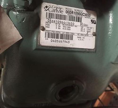 06DR1096GC3650 - Carlyle Reman Compressor 460V 2HP 3PH R22