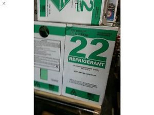 2-PACK of R-22 30LB REFRIGERANT | FACTORY FILLED & SEALED - IMMEDIATE SHIPPING
