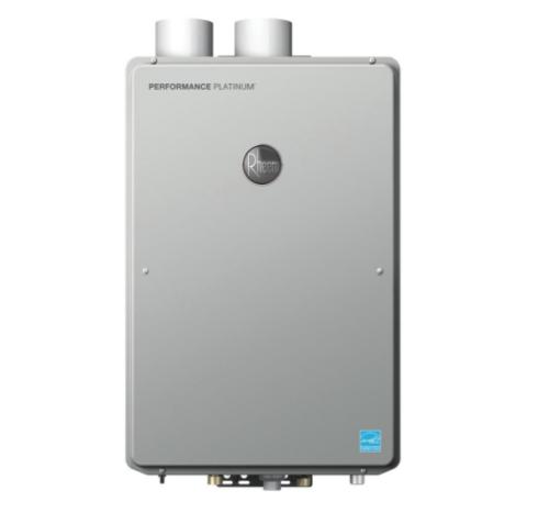 Rheem 9.5 GPM Indoor Tankless Water Heater Performance Platinum Series