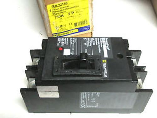 .. Square D 2P 150A Circuit Breaker Cat# QBL22150 ... LL-45
