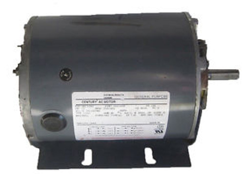 1/3 hp 1725 RPM 48Y Frame 200-230/460 60/50 hz Belt Drive Blower Motor # H264A