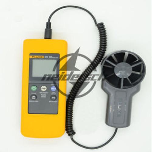 1PCS Fluke 925 impeller anemometer Meter Wind speed air flow Velocity Temperatu