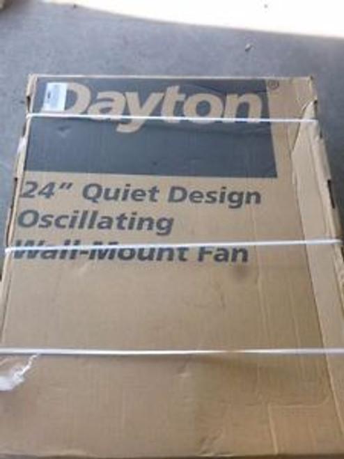 0377 New Dayton - Air Circulator Fan 24 Quite Design 115v 5030 Cfm - 2RDZ8