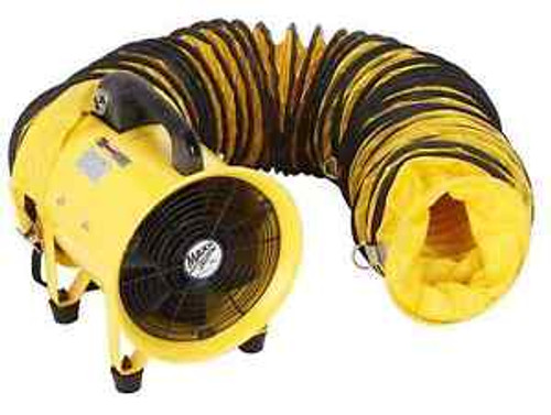 2-Speed High-Velocity Portable Attic Directional Ventilator Duct Hose Blower Fan