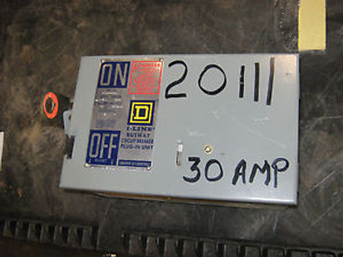 1 Pc Square D I-Line Bus Plug Disconnect, Pfa34040Gn, 30A, 480 V, 3P, 4W