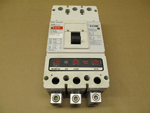 1 Cutler Hammer Hkd3400K Hkd Circuit Breaker With Kt400 Trip  400 Amp 600V 3P