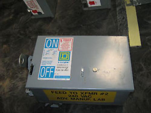 1 Pc Square D I-Line Bus Plug Disconnect, Pfa36040G, 40 Amp, 600 Volt, 3 Pole