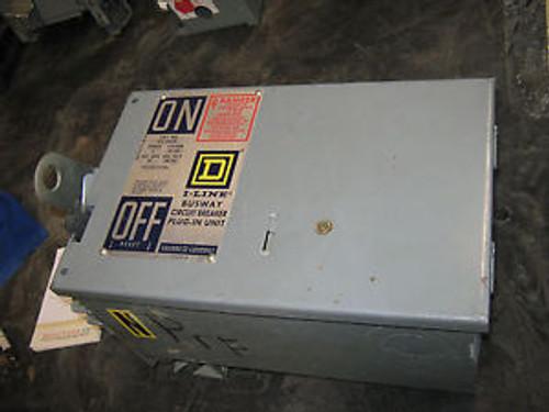 1 Pc Square D I-Line Bus Plug Disconnect, Pfa34030G, 30 Amp, 480 Volt, 3 Pole