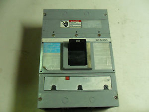 1 Siemens Jxd63B300 Circuit Breaker