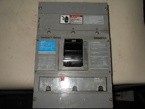 (Q1-1) 1 SIEMENS JXD63B350 CIRCUIT BREAKER 350A 3P 600V
