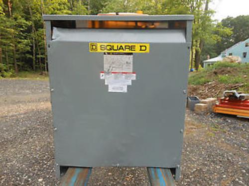 Square D 75kva EE75T211H electrical Transformer 208 - 208y/120  1yr warranty