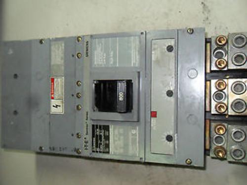 (Q2-4) 1 SIEMENS HLMD63F800 CIRCUIT BREAKER