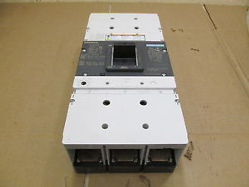 1 SIEMENS LMX3B800 LMX LMG 800 AMP 3 POLE 600 V CIRCUIT BREAKER